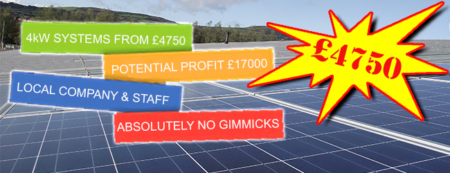 Northern Ireland solar panel prices